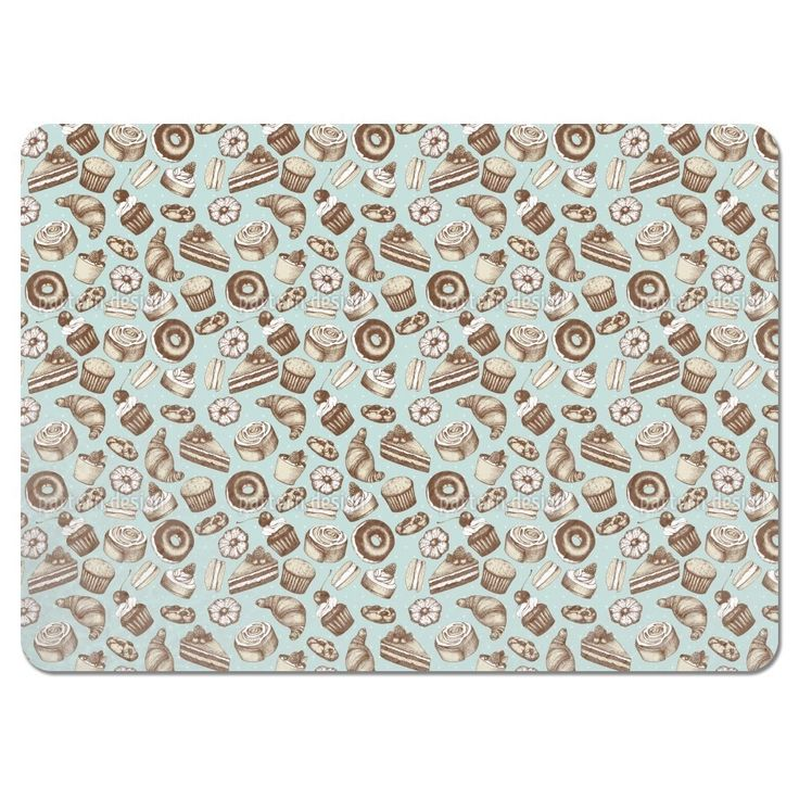 Uneekee Vintage Bakery Placemats