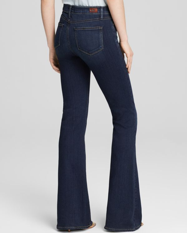 Paige Denim Jeans - Transcend High Rise Bell Canyon in Nottingham | Bloomingdale's