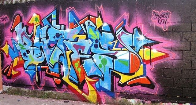 BATES #graffiti #art #mural #painting #paint #graff #streetart #color #drawing #instaart #instagraff #graffitiart by tagginup