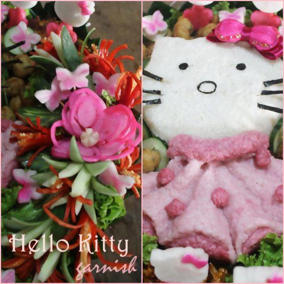 Hello Kitty, Girl Birthday tumpeng