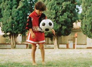 El chat de Fútbol: El balón se convirtió en el mejor amigo de Messi