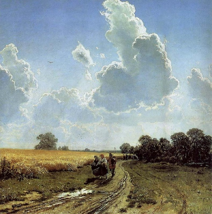 Ivan Shishkin, Midday in the Environs of Moscow
