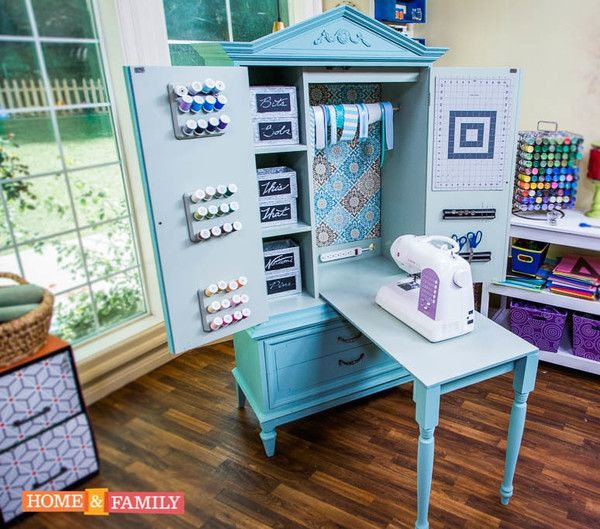 Sewing and Craft Armoire | KENNETH WINGARD
