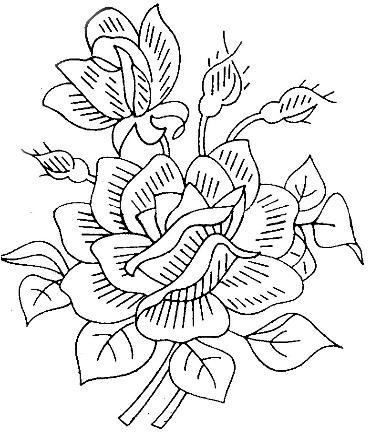 Pin by Julie McIntosh on flowers   Vintage embroidery, Embroidery patterns vintage, Embroidery ...