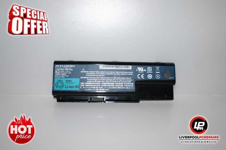 "Item:  Acer Aspire 6920G Laptop Genuine Battery 10,8V 4400mAh AS07B31 ""B432   Postage:  Free UK Shipping – Royal Mail 1st Class Item Price: £9.99   Warranty:  30 Day Money Back Guarantee Buy on eBay: ebay.liverpoolpcrepairs.com   Protection:  eBay Money Back Guarantee Item Ends:..."