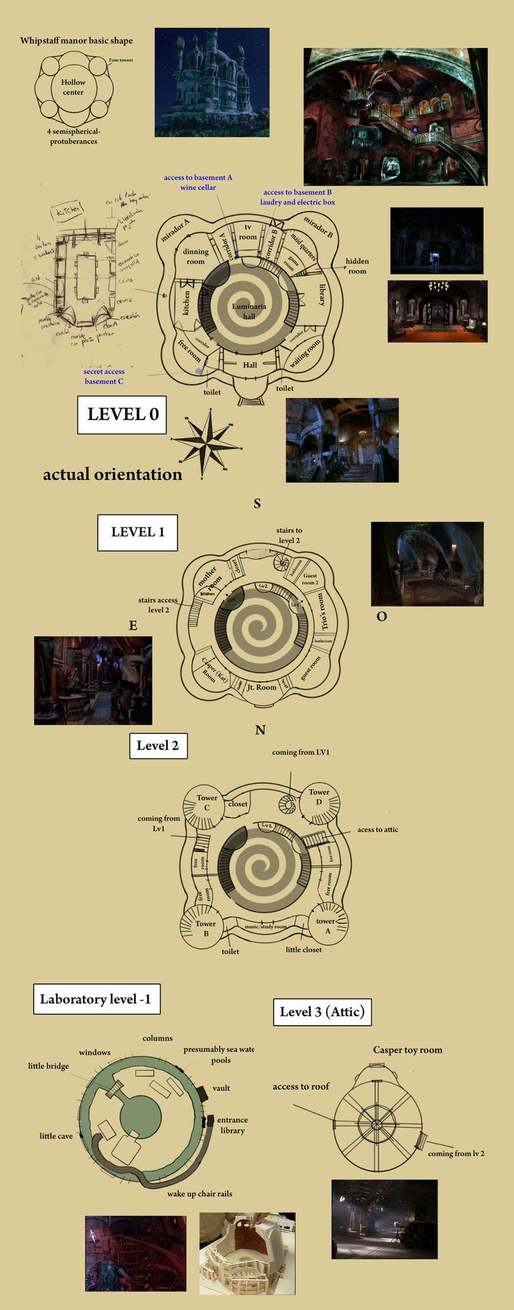 whipstaff manor the casper portal a fan created floor plan of