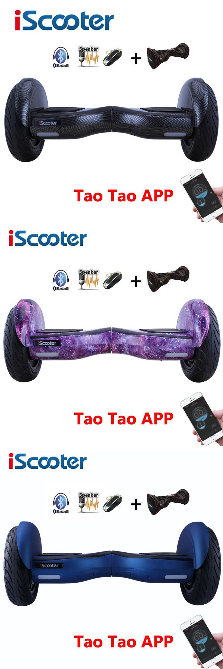 [Visit to Buy] iScooter 10 Inch Hoverboard Bluetooth Speaker Electric Giroskuter Gyroscooter Overboard Gyro Scooter Hover board Two Wheel  #Advertisement