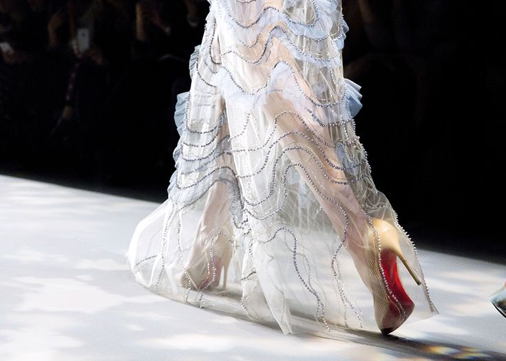 News - Christian Louboutin Online - Ladies First: Christian Louboutin at New York Fashion Week Fall/Winter 2017