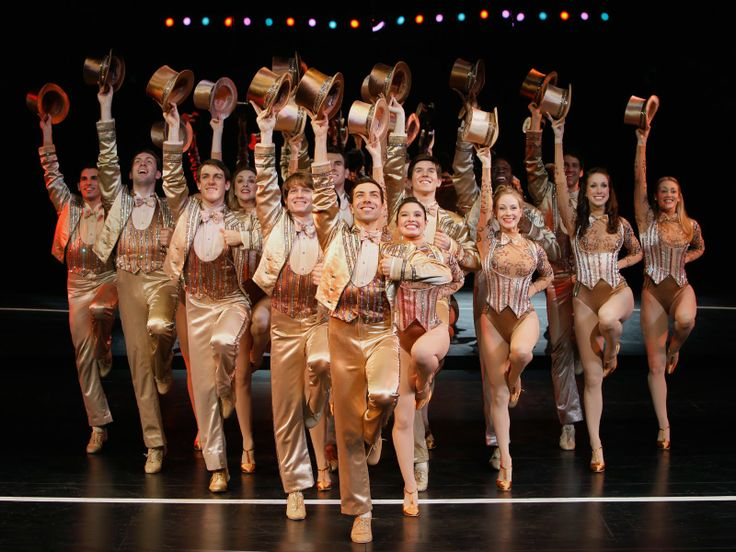 One of the best shows ever on Broadway.  A Chorus Line