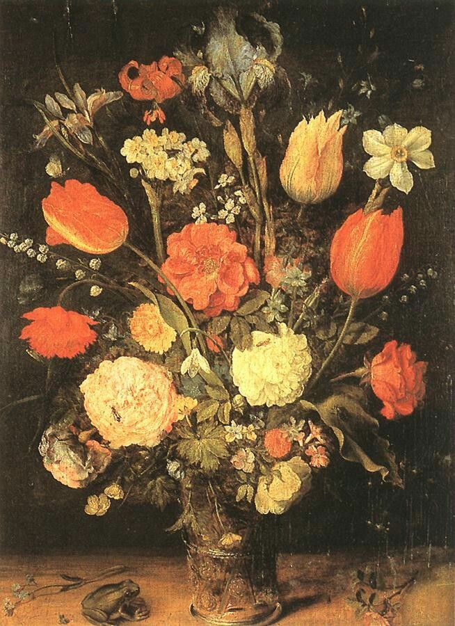 Flowers - Oil on panel, 49 x 39 cm Museo del Prado, Madrid