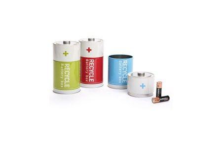 Monkey Business Battery Box - Brug dem til affaldssortering