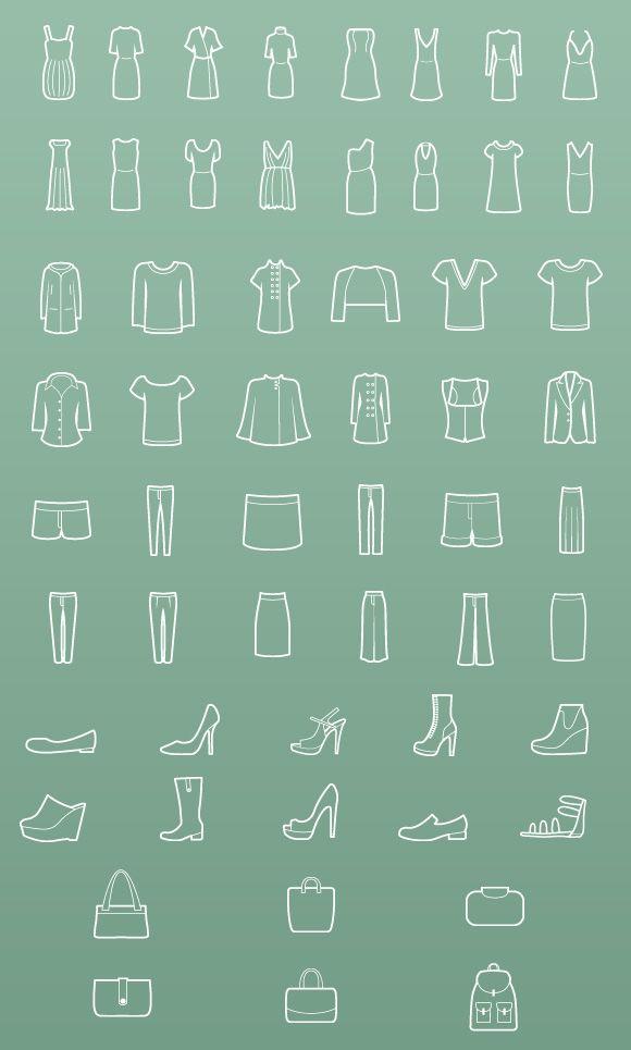 Iconos  Ilustraciones de iconos para proyectos y personales.