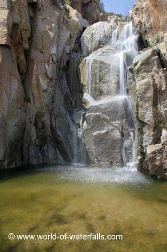 Ortega Falls (Cleveland National Forest / Lake Elsinore, California, USA)