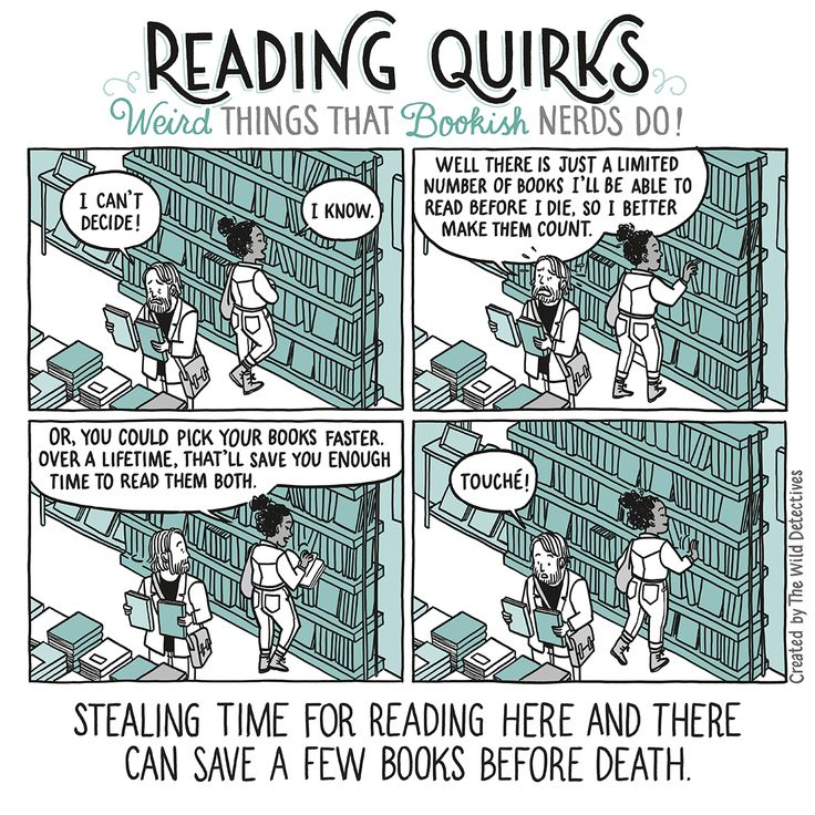 Reading Quirks #14
