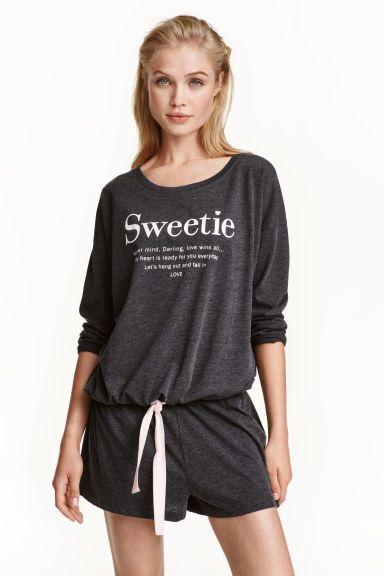 Pigiama maglia e pantaloncini | H&M