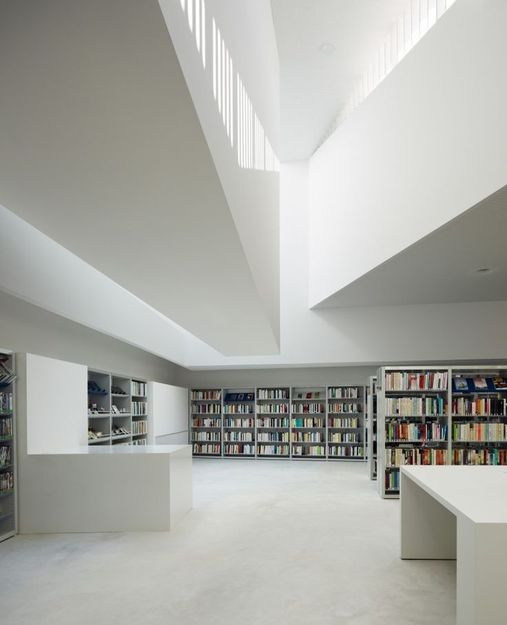 Library in Anzin     Dominique Coulon & Associés     Architecture