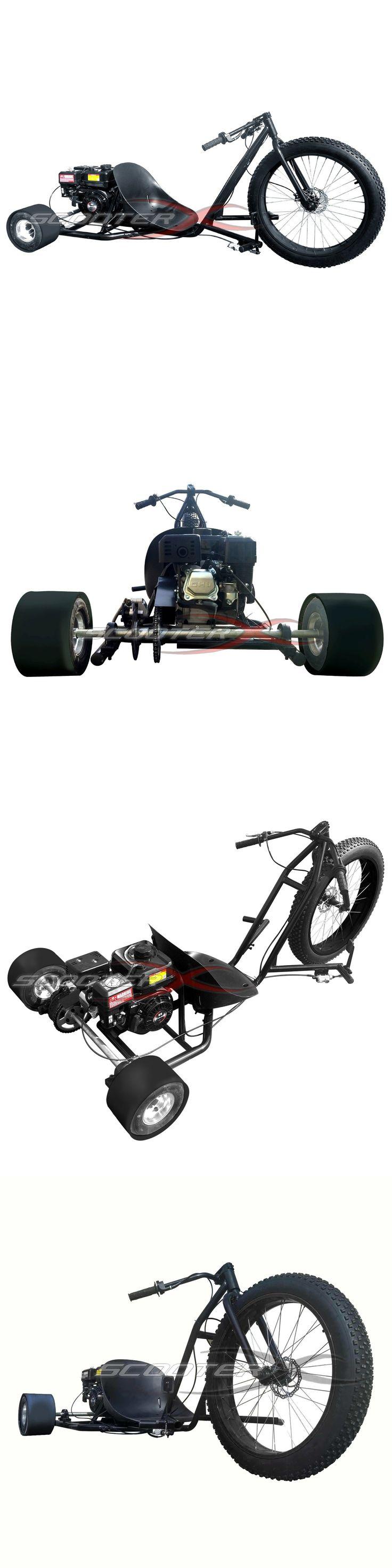 Gas Scooters 75211: Drift Trike Gas Powered 6.5Hp 3 Wheel Big Black Cart Go Kart Bike Motor Wheeler -> BUY IT NOW ONLY: $949 on eBay!