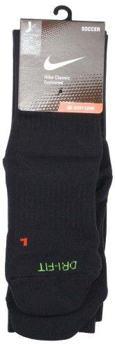 Nike Classic II Cushioned Over The Calf Soccer Socks-Black-Medium