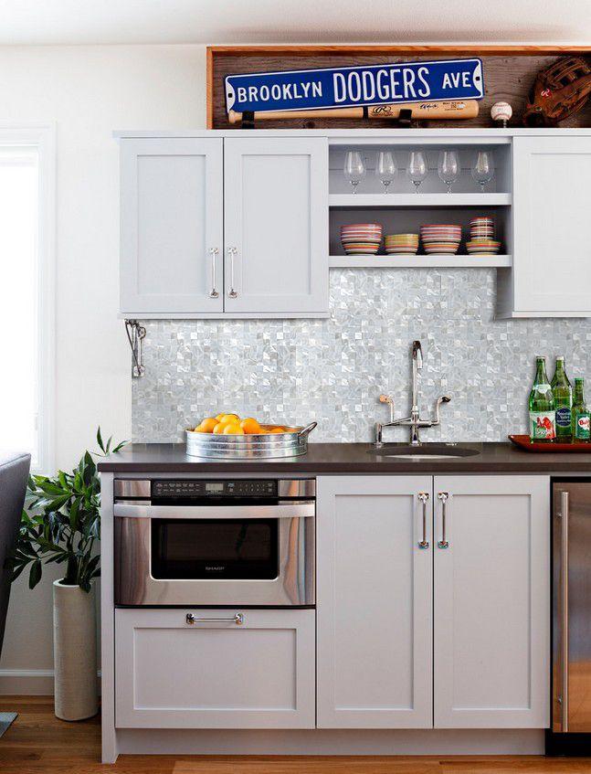 Mother Of Pearl Tile Kitchen Backsplash Builderelements Com Pem0058