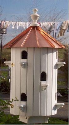 Purple Martin Bird House Amish Wooden Martin Birdhouses- AmishShop.com