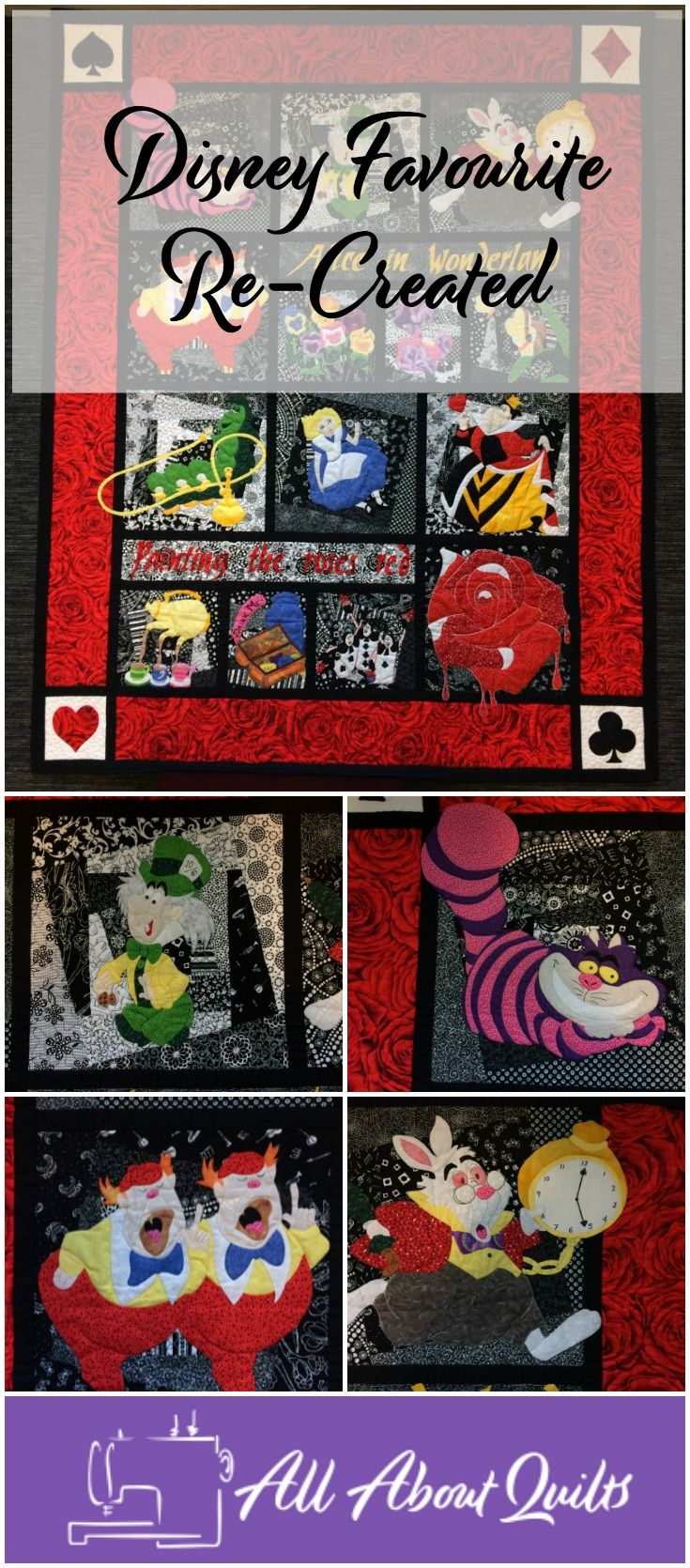 A free tutorial showing how you can make your own Alice Quilt for some one special.