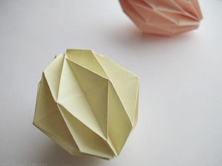 Diy origami ball DIY Origami DIY Craft