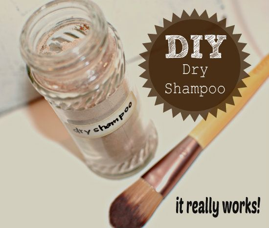 DIY Dry Shampoo {with essential oils} - http://yankeehomestead.com/2014/04/24/diy-dry-shampoo-essential-oils/