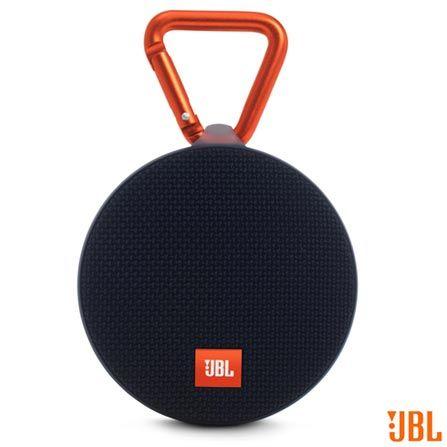 Caixa de Som Bluetooth JBL Clip 2 com Potência de 3W Preta - CLIP2, Preto, Caixas Portáteis, Sim, 3 W, Sim, Não, iOS e Android, 12 meses