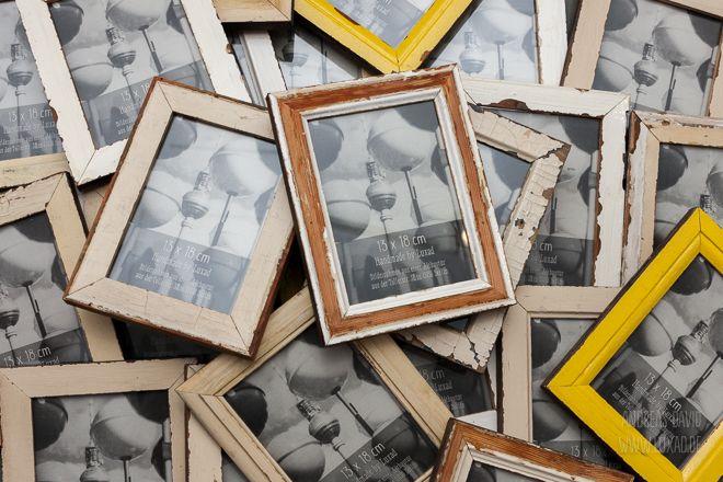 52 best fotorahmen aus recyceltem holz images on pinterest wood picture frame and berlin. Black Bedroom Furniture Sets. Home Design Ideas
