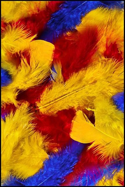 kleur tegen kleur contrast: contrastwerking die ontstaat als zuivere kleuren naast elkaar gebruikt worden.