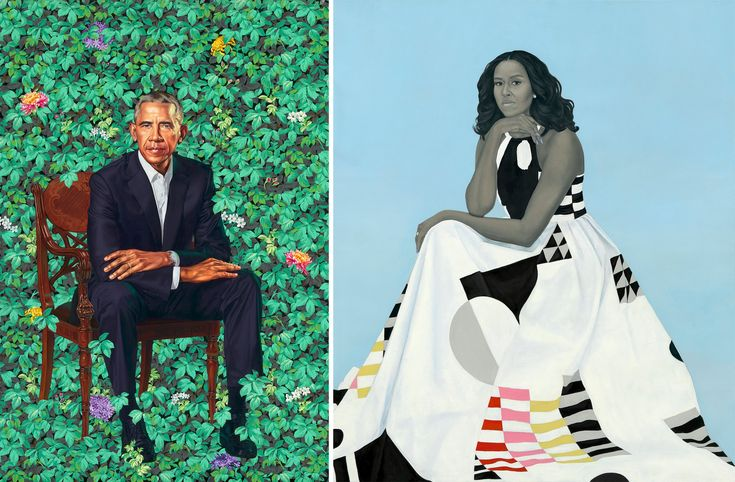 This Barack Obama Is No Mr. Nice Guy. Kehinde Wiley's portrait of the former president contradicts the impression he often made in office of being detached.