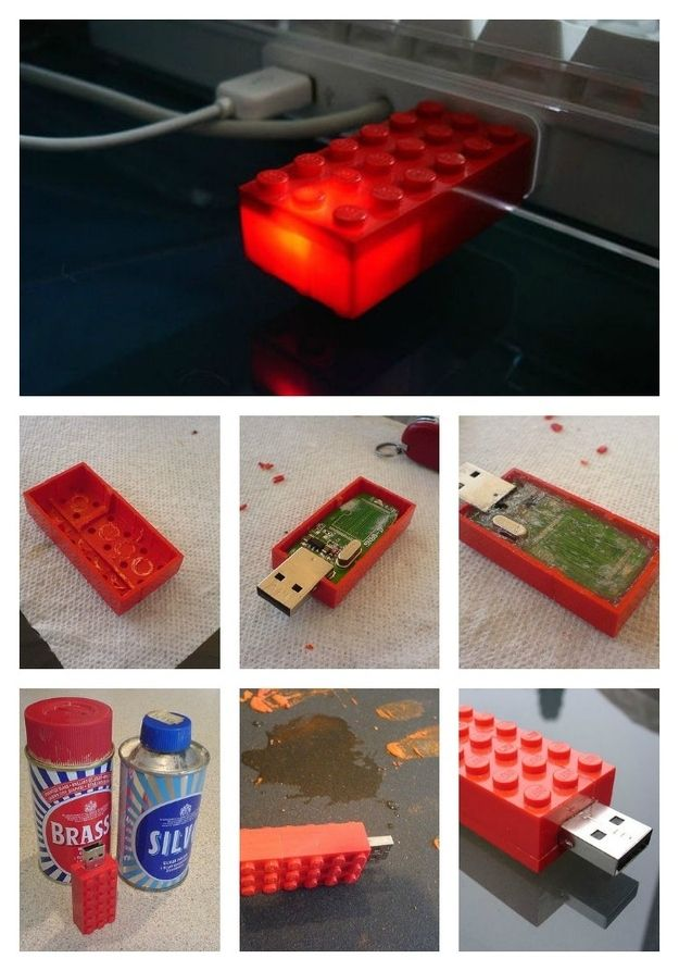 USB Stick | 16 Awesome Things You Never Thought You'd Make With Legos