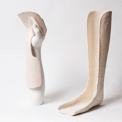 Explorando as propriedades da luffa (Luffa Cyllindrica), Mauricio Affonso, designer brasileiro radicado em Londres, desenvolveu uma série de produtos inovadores.