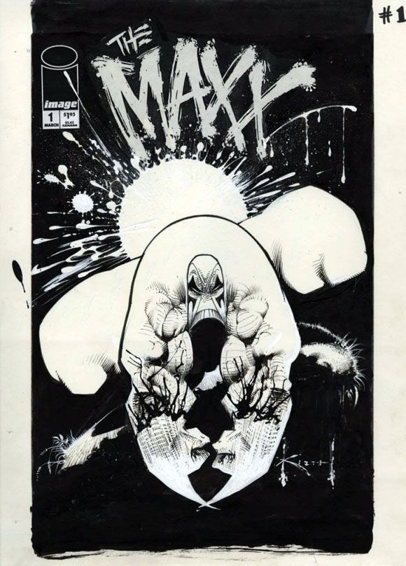 Super Rare Max (the) #1 Black Ashcan.  Click the pic and find out more...