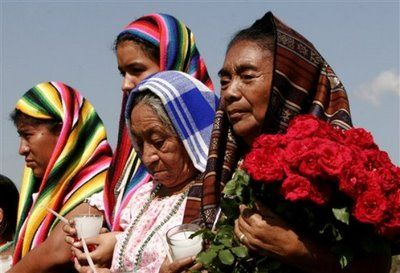 Pipil Women. San Salvador, Central America. Their language, Nahuatl, is on the verge of extinction.