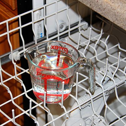 <i>Kick Off Your Spring Cleaning with a Sparkling Clean Dishwasher!</i>