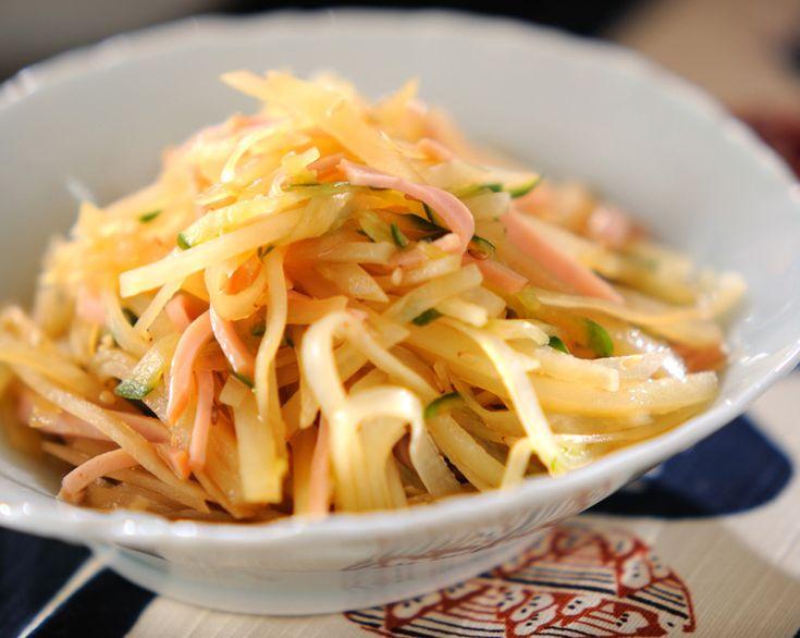 ジャガイモの中華サラダ【E・レシピ】料理のプロが作る簡単レシピ/2010.03.08公開のレシピです。