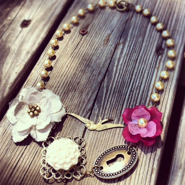 Necklace I made :: CoraLeigh Designs