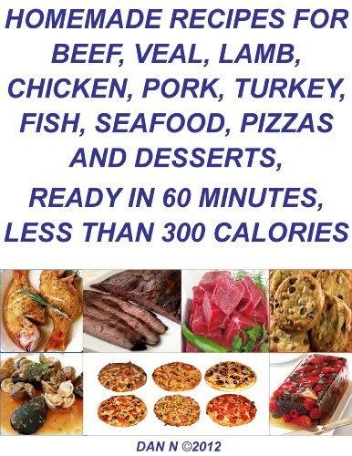 Homemade Recipes for Beef, Veal, Lamb, Chicken, Pork, Turkey, Fish ...