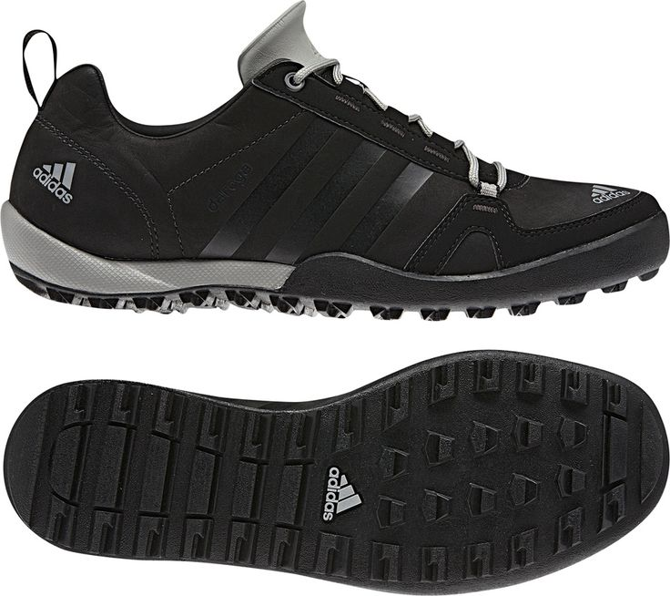 adidas Outdoor Daroga Two 11 Leather Shoe - Men\u0027s Black/Solid Grey/Shift  Grey 9 - performance coupon furniture