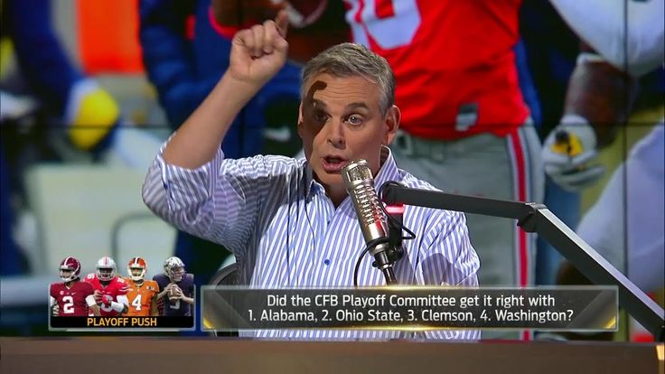 Colin Cowherd blasts the College Football Playoff committee | THE HERD