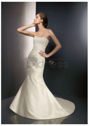 Abiti da Sposa in Pizzo-Rette scollatura abiti da sposa in pizzo senza spalline