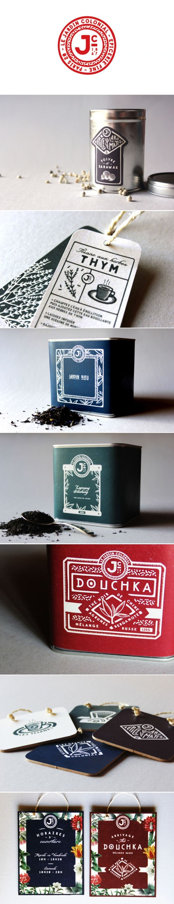 Le Jardin Colonial: concept identity & packaging / by Adrien Grand Smith Bianchi