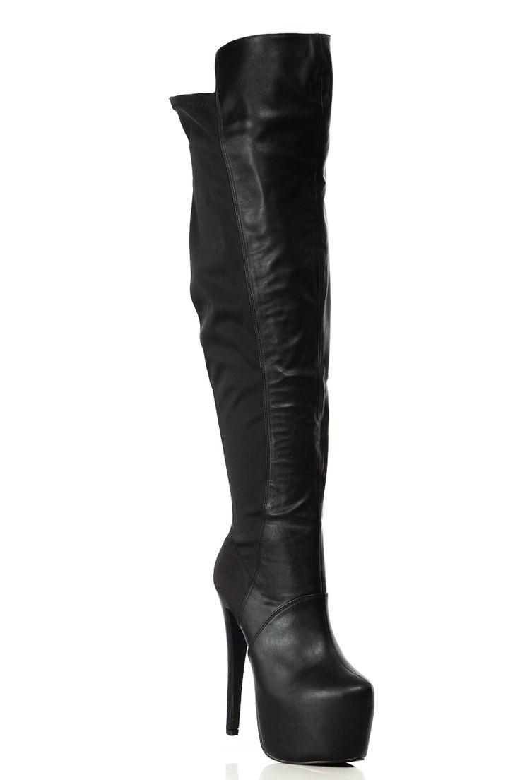 17 Best ideas about Thigh High Platform Boots on Pinterest | Sexy ...