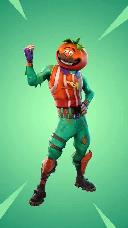 Fortnite Tomato Minecraft Head Skins