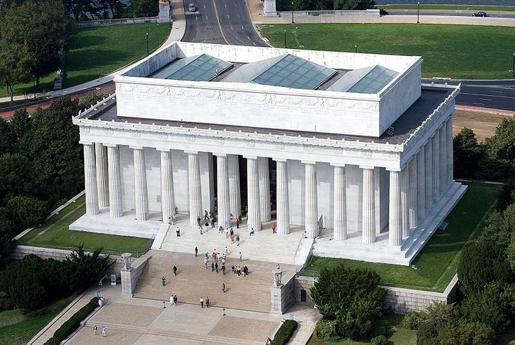 The Lincoln Memorial  Created as a monument to honour Abraham Lincoln, The United States' 16th President, this landmark was inaugurated in 1922. Its architectural style brings ancient Greek influences to the 18th and 19th century