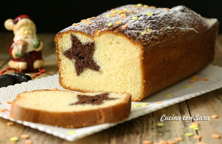 Ricetta plumcake natalizio - con stella a sorpresa nell'impasto