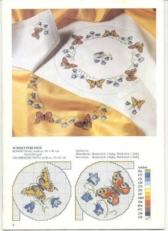 Gallery.ru / Фото #3 - Round tablecloths - irislena