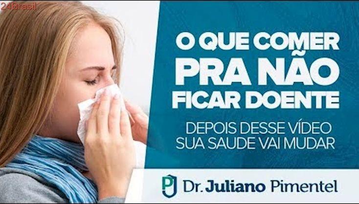 O que COMER para NÃO FICAR DOENTE (Gripe, Resfriado e Coriza) | Dr. Juliano Pimentel