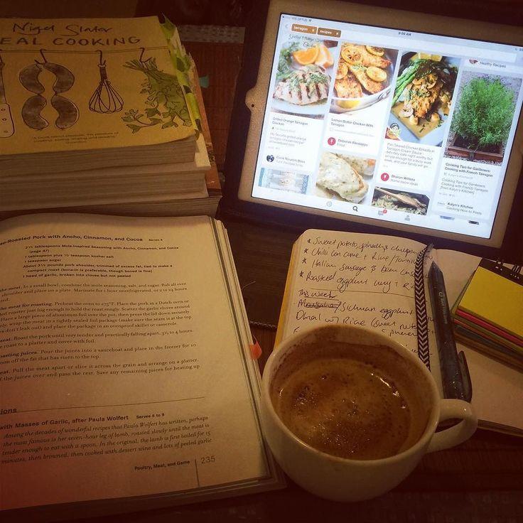 #whatsaturdaylookslike #happiness #recipegathering #food #mealplanning